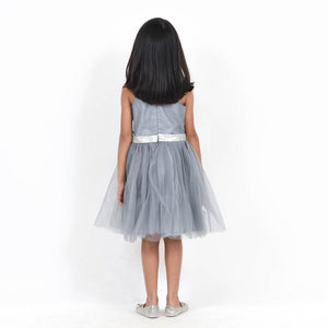 Fairies Forever Grey Party Dress