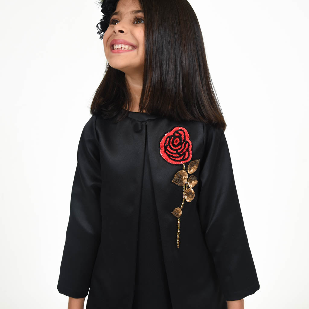 Black Jacket Party Dress