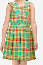 Load image into Gallery viewer, Fairies Forever Cross Back Summer Dress-Green