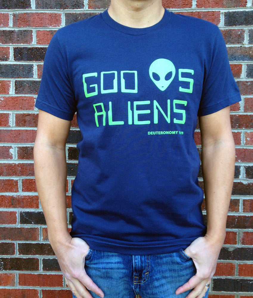God Loves Aliens T-Shirt