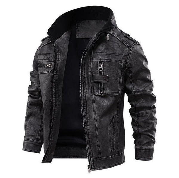 Deadly Skulls Leather Jacket