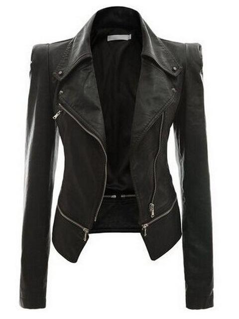 Leather Gothic Jacket