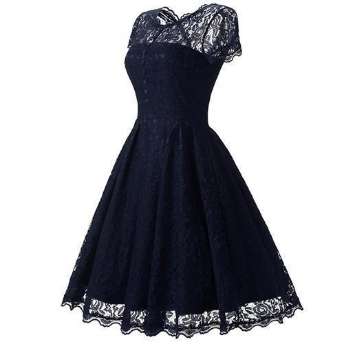 Lace Gothic Dress