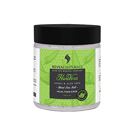 Honey & Aloe Vera Cleansing foam scrub - Reveal Naturals