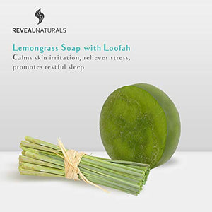 Lemongrass Loofah Soap - Reveal Naturals