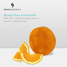 Load image into Gallery viewer, Orange Loofah Soap - Reveal Naturals