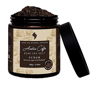 Arabica coffee  Infused with Dead Sea Salt scrub - Reveal Naturals