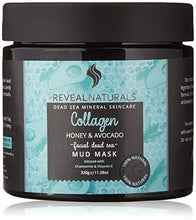 Load image into Gallery viewer, Collagen infused Dead Sea Mud Mask - Reveal Naturals