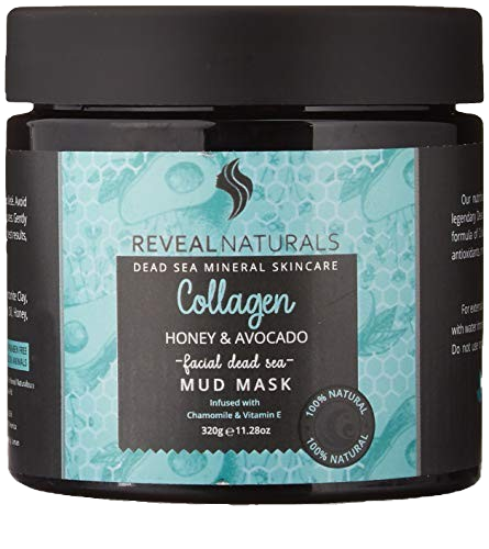 Collagen infused Dead Sea Mud Mask - Reveal Naturals
