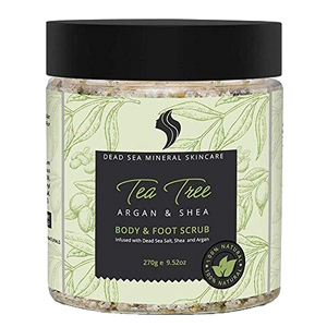 TEA TREE + DEAD SEA SALT SCRUB