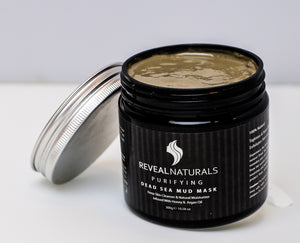 All Natural Dead Sea Body Mud Infused with Argan oil - Reveal Naturals