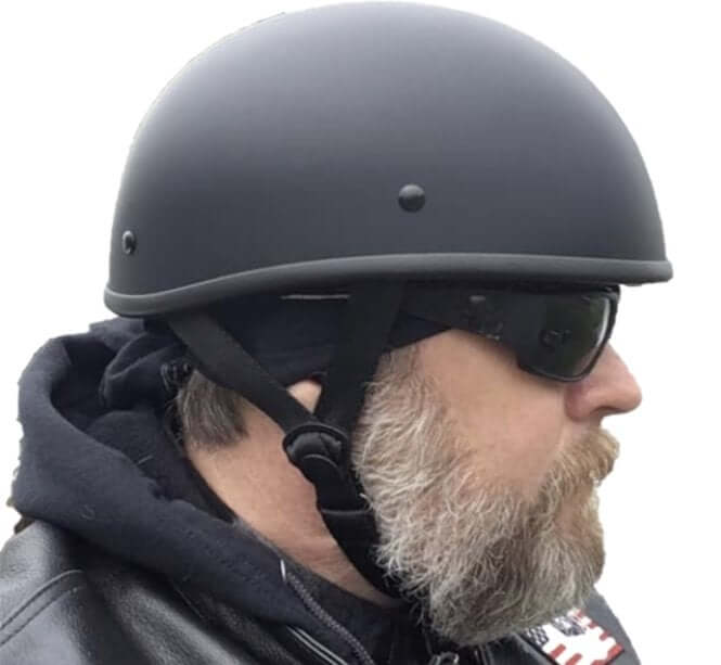 Blister is the Smallest DOT Beanie Low Profile Motorcycle Helmet. Blister is the Smallest DOT Beanie Low Profile Motorcycle Helmet. - Skootdog.com