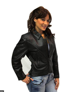 Woman Leather Jacket ZONY 402 Womens Leather Jackets