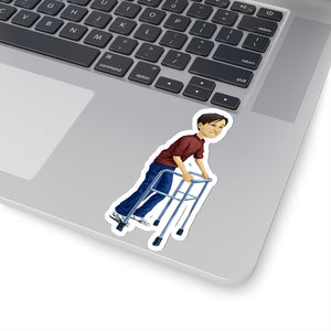 Kyle w/ Walker Sticker - ImagineWe Publishers