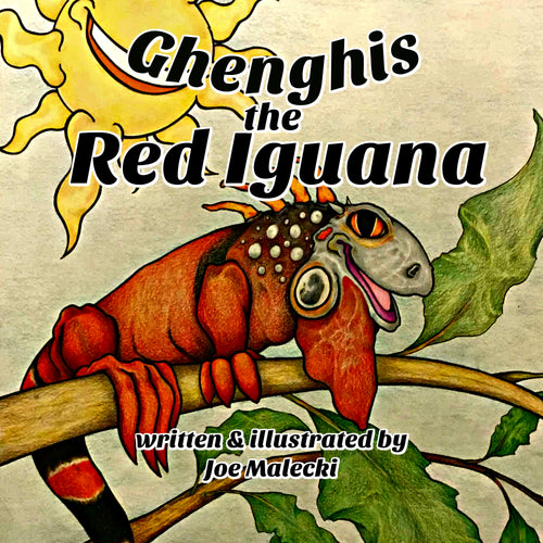 Ghenghis the Red Iguana - ImagineWe Publishers