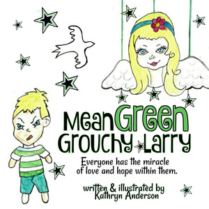 Mean Green Grouchy Larry - ImagineWe Publishers