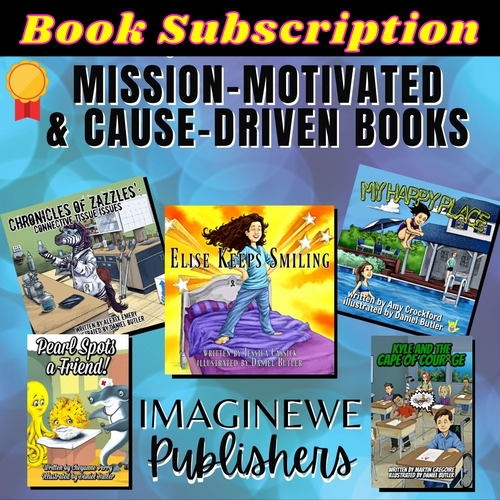 Book Subscription (12 books) - ImagineWe Publishers