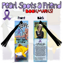 Load image into Gallery viewer, Pearl Spots a Friend Bookmark - ImagineWe Publishers