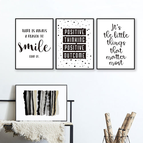 Black and White Inspirational Poster Prints - ImagineWe Publishers