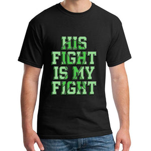 """His Fight is My Fight"" Cerebral Palsy T-Shirt - ImagineWe Publishers"