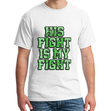 "Load image into Gallery viewer, ""His Fight is My Fight"" Cerebral Palsy T-Shirt - ImagineWe Publishers"