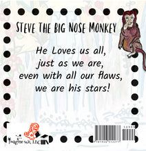 Load image into Gallery viewer, Steve the Big Nose Monkey - ImagineWe Publishers