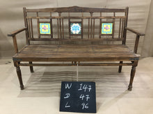 Load image into Gallery viewer, Wooden Bench