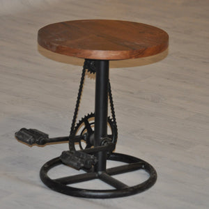 IRON CYCLE STOOL