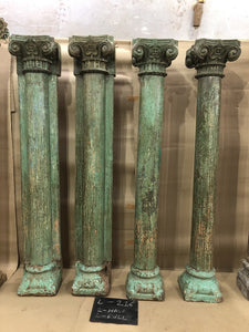 Antique 19th century pillars