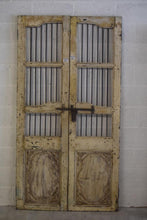 Load image into Gallery viewer, VINTAGE WOODEN JALI DOOR ONLY