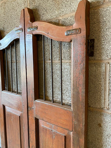 WOODEN DOG GATE