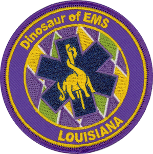 3INCH LOUISIANA PATCH