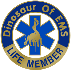 "DOEMS 4"" Life Member Decal"