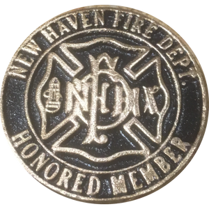 NHFD Screw Back Honored Member Medallion