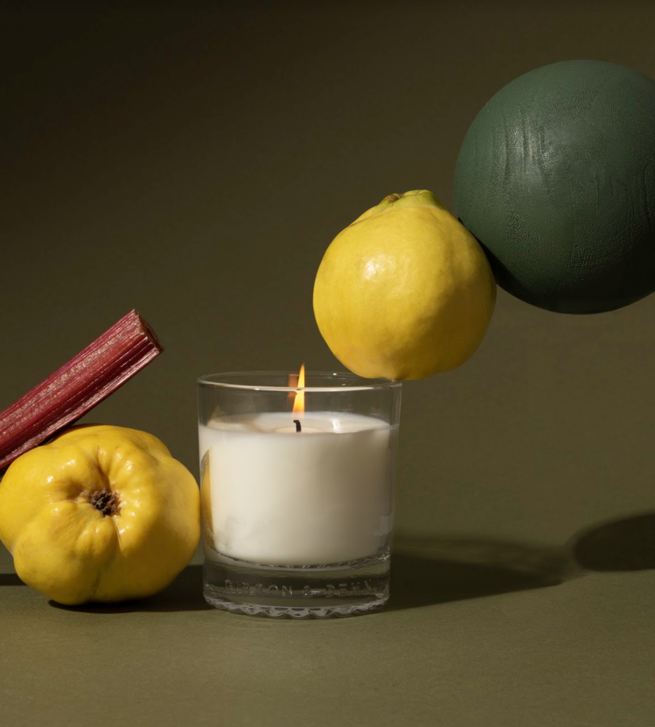RHUBARB & QUINCE | Single Wick Candle
