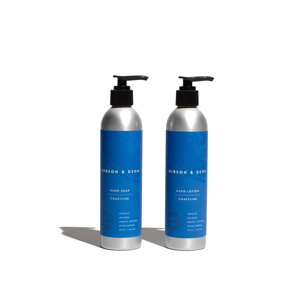 COASTLINE SOAP & LOTION SET