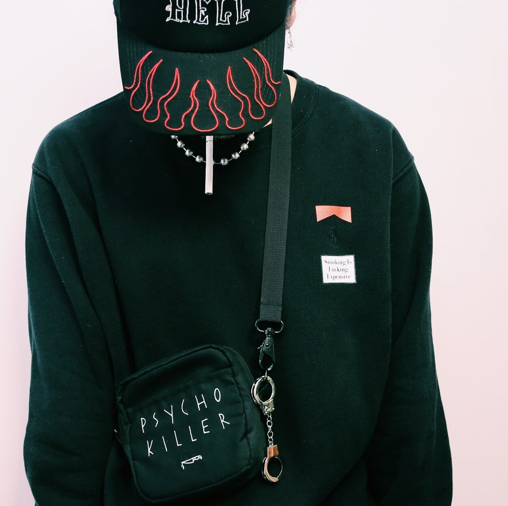 """PSYCHO KILLER"" SHOULDER BAG"