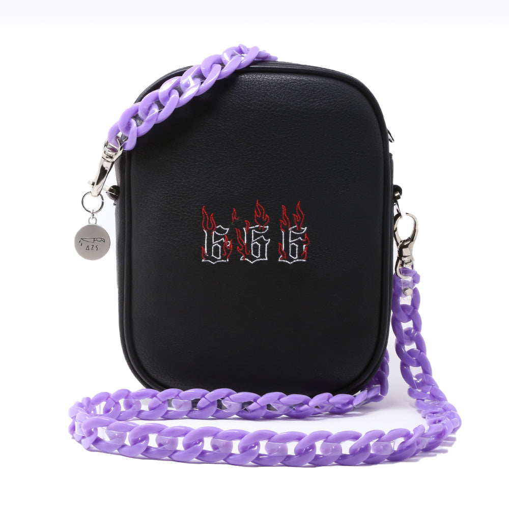 """666"" CHAIN SHOULDER BAG"