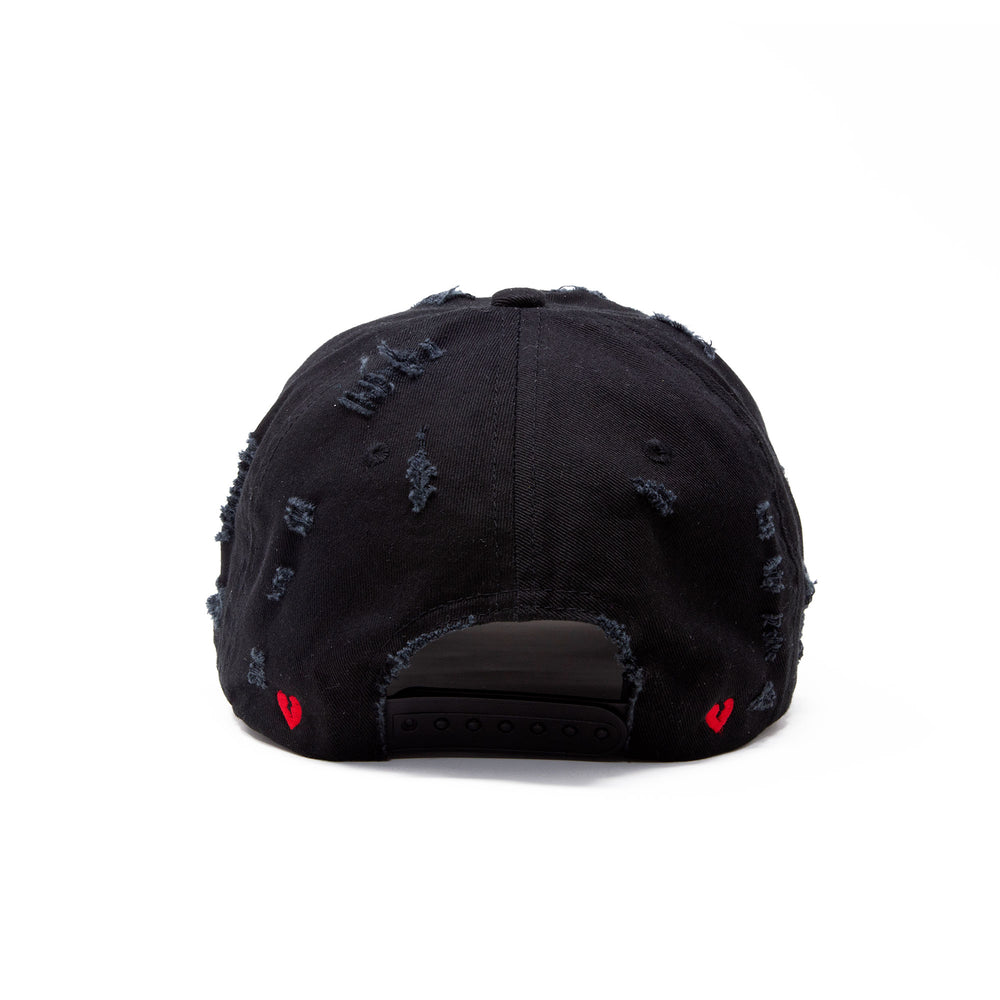 """CHAOS"" DISTRESSED HAT"