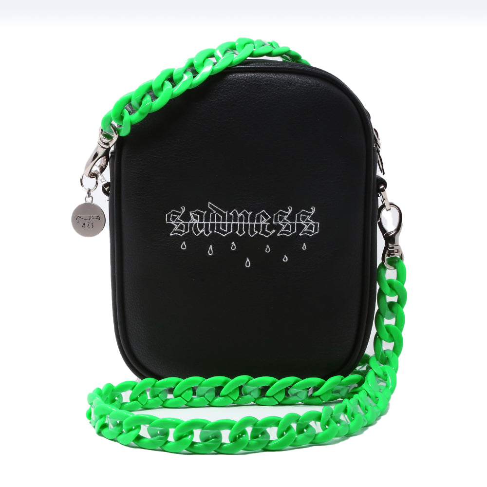 """SADNESS"" CHAIN SHOULDER BAG"