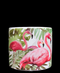 R303038 CERAMICA BASE FLAMINGOS 11.5 X 10.5 CM