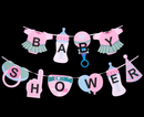 R413013-B BANNER BABY SHOWER GIRL/BOY