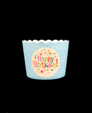R502015 PORTA MUFFIN HAPPY BIRTHAY PAQ C/50 PZAS