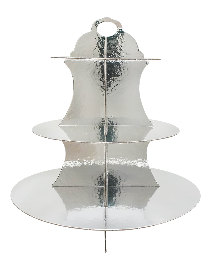 R508002 CUP CAKE STAND 3 NIVELES