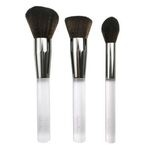 Crystal Clear 3pc Brush Collection