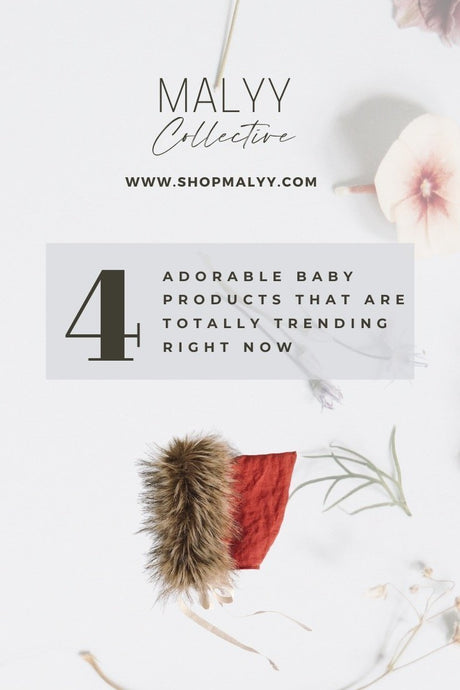 4 Adorable Baby Products That Are Totally Trending Right Now