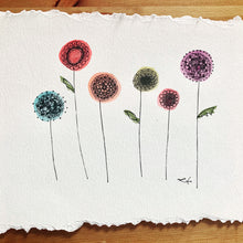 Load image into Gallery viewer, Whimsical Spring Flower Art Print