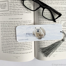 Load image into Gallery viewer, Polar Bear Bookmark