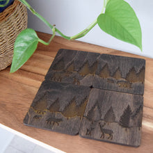 Load image into Gallery viewer, Boreal Forest Animal Coasters