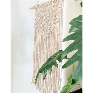 Macrame Heart Wall Hanging